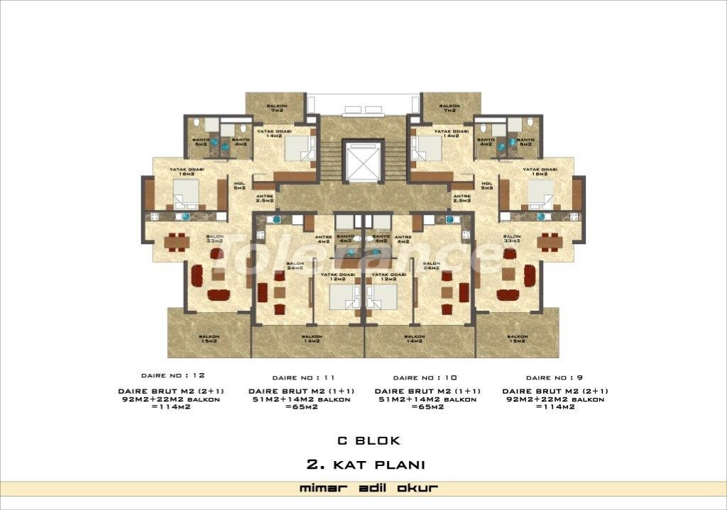 Квартиры в Кестеле в комплексе с инфраструктурой - 3035   Tolerance Homes