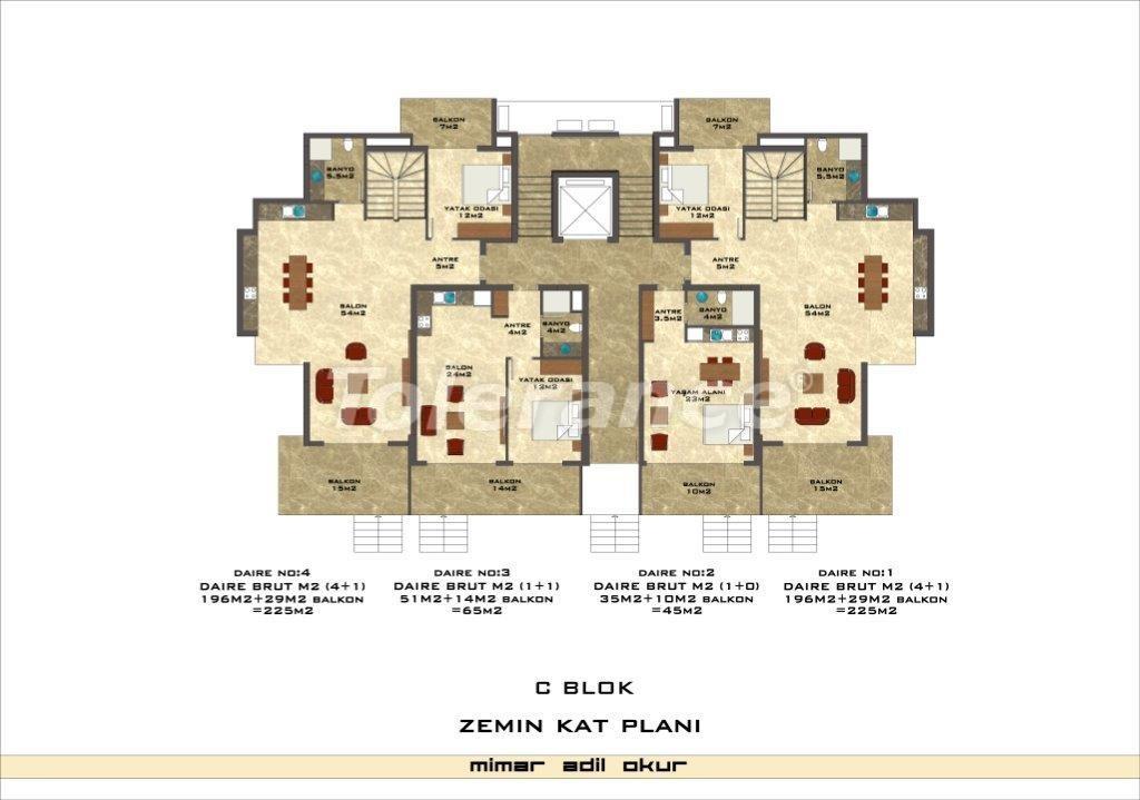 Квартиры в Кестеле в комплексе с инфраструктурой - 3038   Tolerance Homes