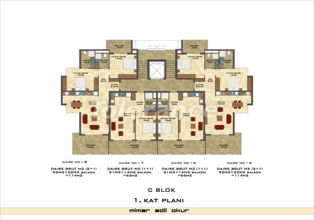 Квартиры в Кестеле в комплексе с инфраструктурой - 3033   Tolerance Homes