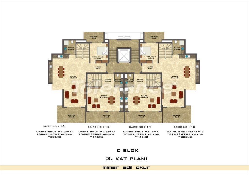 Квартиры в Кестеле в комплексе с инфраструктурой - 3036   Tolerance Homes