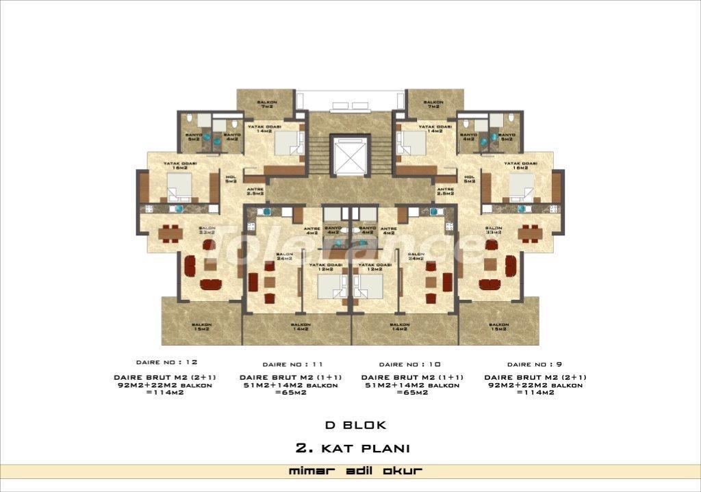 Квартиры в Кестеле в комплексе с инфраструктурой - 3042   Tolerance Homes