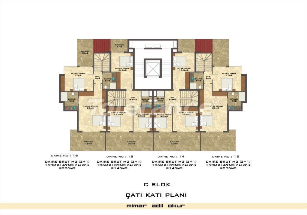 Квартиры в Кестеле в комплексе с инфраструктурой - 3037   Tolerance Homes