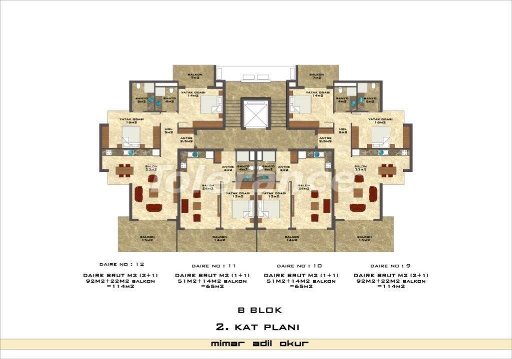 Квартиры в Кестеле в комплексе с инфраструктурой - 3028   Tolerance Homes