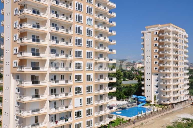 Апартаменты в Махмутларе в комплексе с крытым бассейном и аквапарком - 3300   Tolerance Homes
