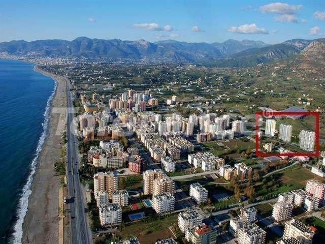 Апартаменты в Махмутларе в комплексе с крытым бассейном и аквапарком - 3299   Tolerance Homes