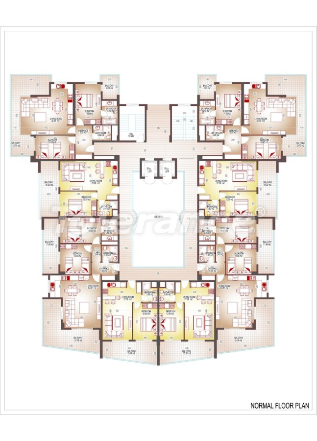 Квартиры люкс класса в центре Махмутлара - 3512 | Tolerance Homes