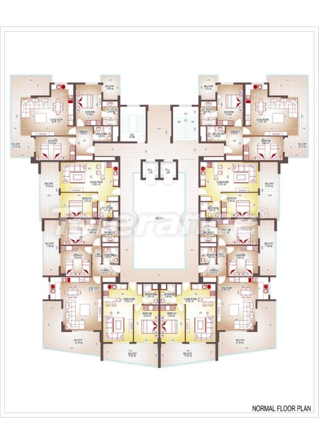Квартиры люкс класса в центре Махмутлара - 3507 | Tolerance Homes