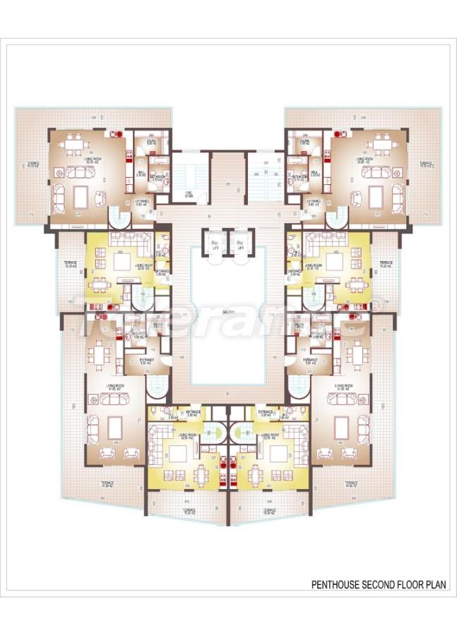 Квартиры люкс класса в центре Махмутлара - 3509 | Tolerance Homes