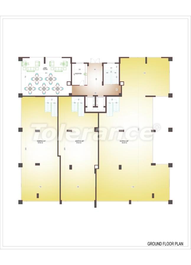 Квартиры люкс класса в центре Махмутлара - 3506 | Tolerance Homes