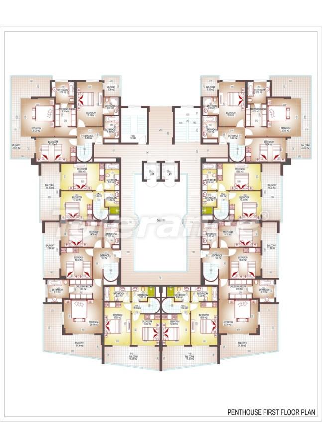 Квартиры люкс класса в центре Махмутлара - 3513 | Tolerance Homes