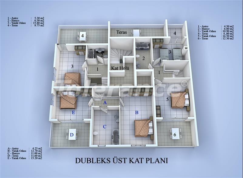 Блок апартаментов в Коньяалты, Анталья в 100 метрах от моря - 17032 | Tolerance Homes