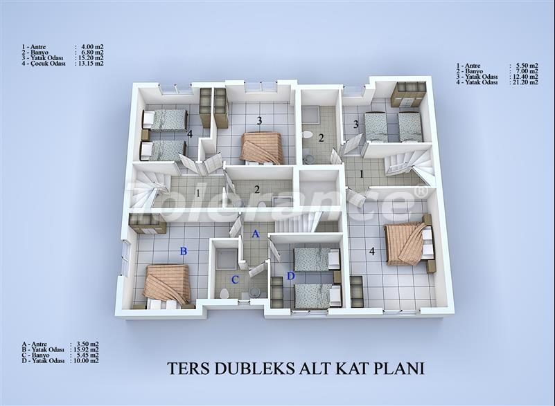 Блок апартаментов в Коньяалты, Анталья в 100 метрах от моря - 17034 | Tolerance Homes