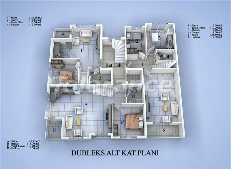 Блок апартаментов в Коньяалты, Анталья в 100 метрах от моря - 17031 | Tolerance Homes