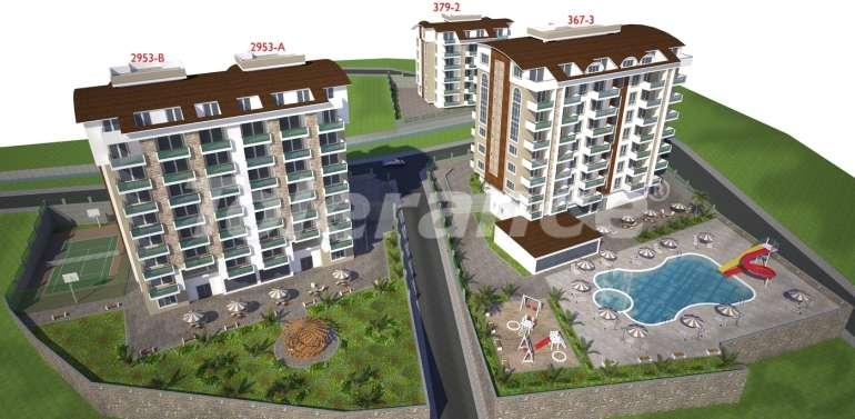 Недорогие квартиры в Авсалларе, Алания с прекрасным видом на море и горы - 3639 | Tolerance Homes