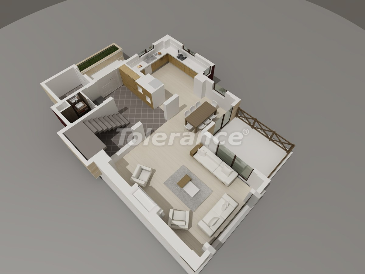 Виллы в Коньяалты, Анталия  класса люкс с видом на горы Торос - 3948 | Tolerance Homes