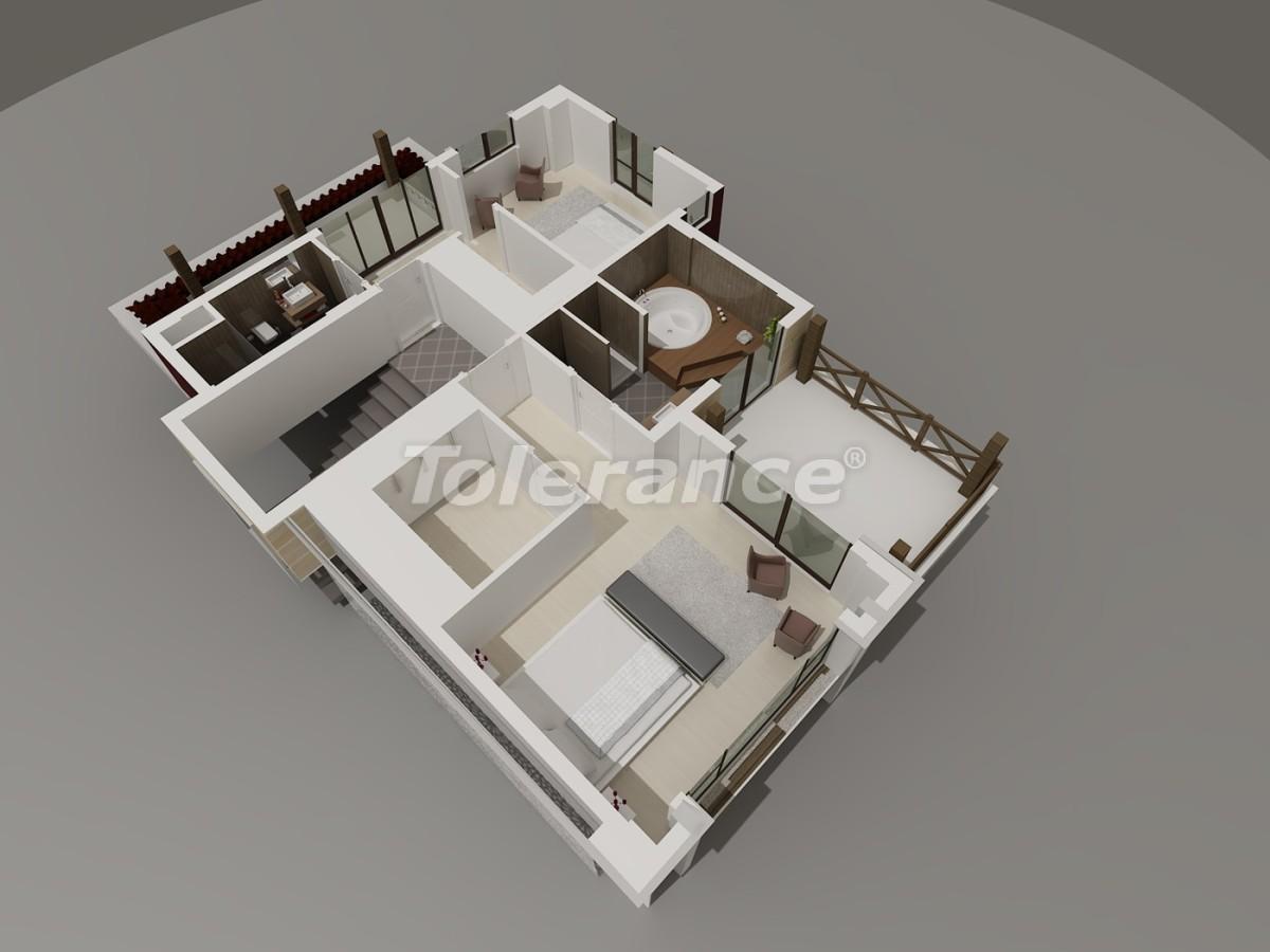 Виллы в Коньяалты, Анталия  класса люкс с видом на горы Торос - 3950 | Tolerance Homes