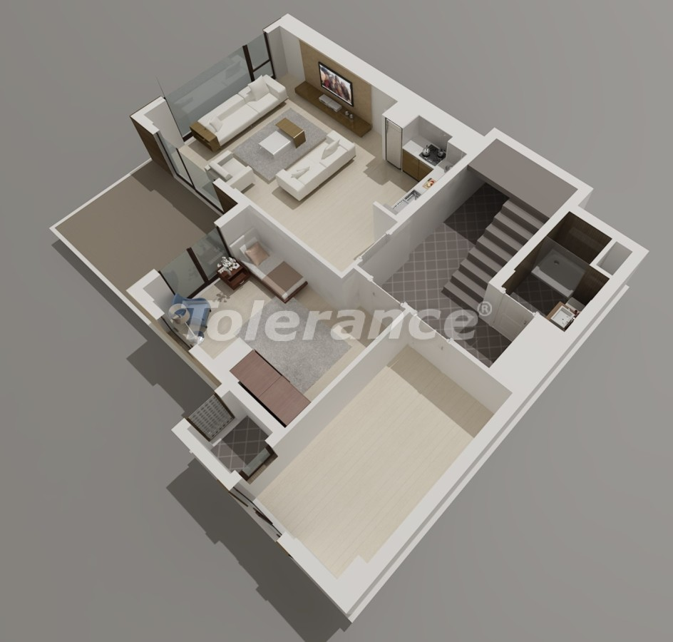 Виллы в Коньяалты, Анталия  класса люкс с видом на горы Торос - 3956 | Tolerance Homes