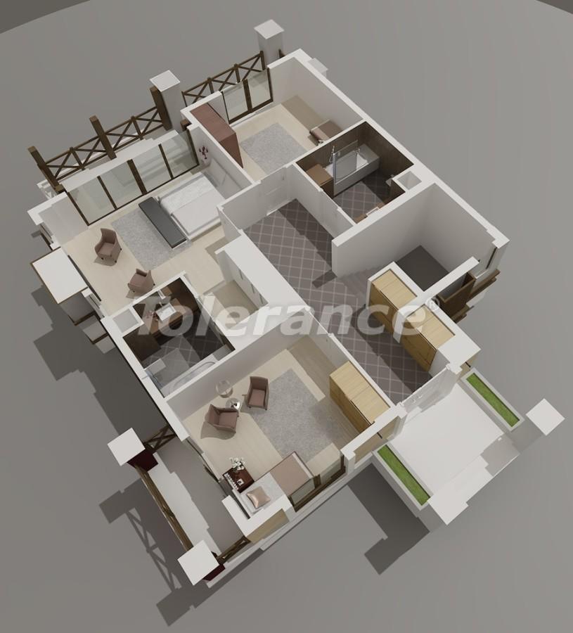 Виллы в Коньяалты, Анталия  класса люкс с видом на горы Торос - 3964 | Tolerance Homes