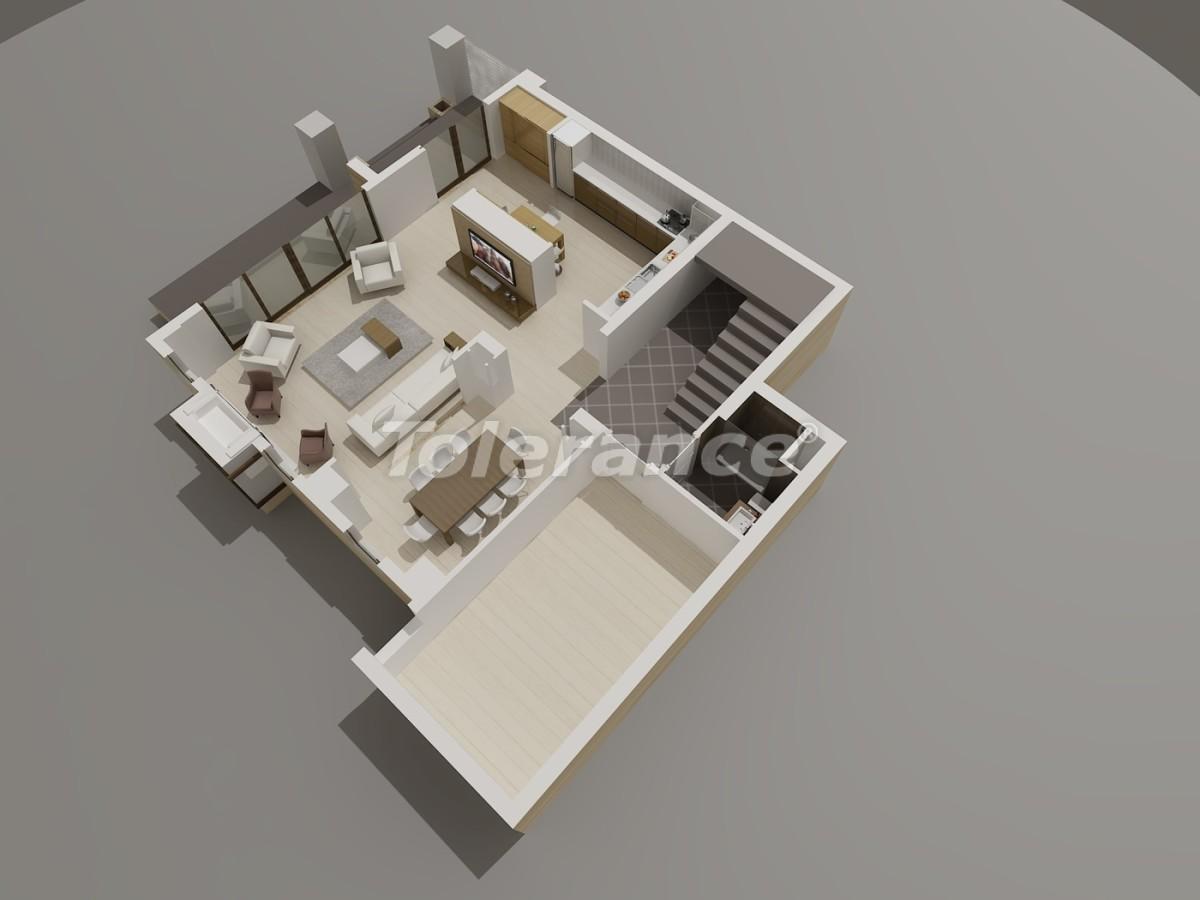 Виллы в Коньяалты, Анталия  класса люкс с видом на горы Торос - 3960 | Tolerance Homes