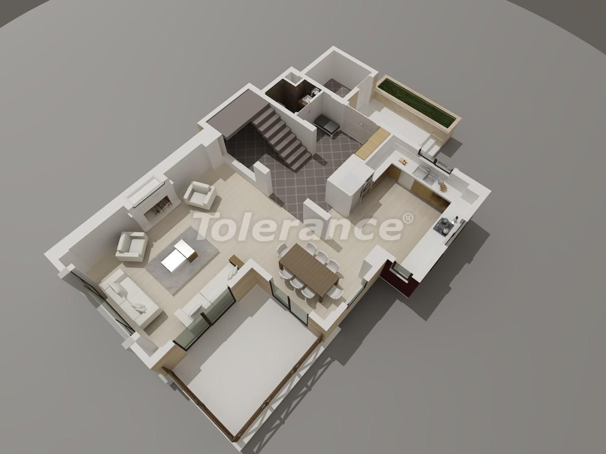 Виллы в Коньяалты, Анталия  класса люкс с видом на горы Торос - 3947 | Tolerance Homes