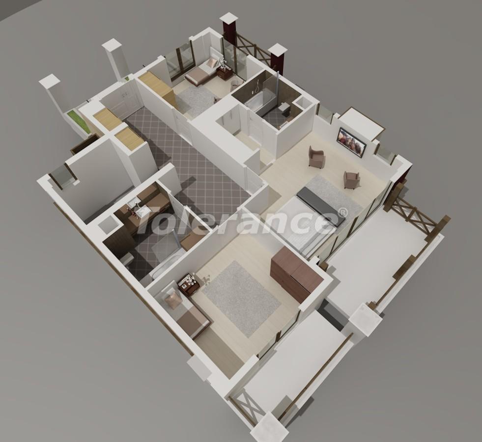 Виллы в Коньяалты, Анталия  класса люкс с видом на горы Торос - 3962 | Tolerance Homes