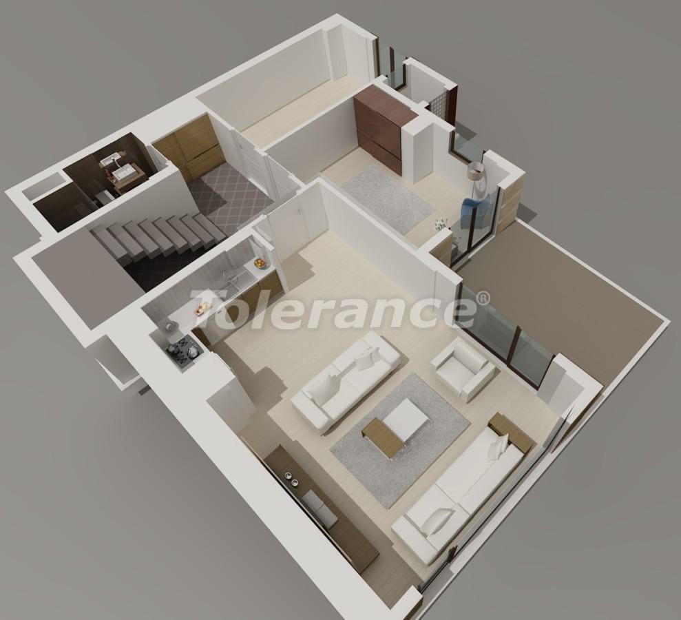 Виллы в Коньяалты, Анталия  класса люкс с видом на горы Торос - 3954 | Tolerance Homes