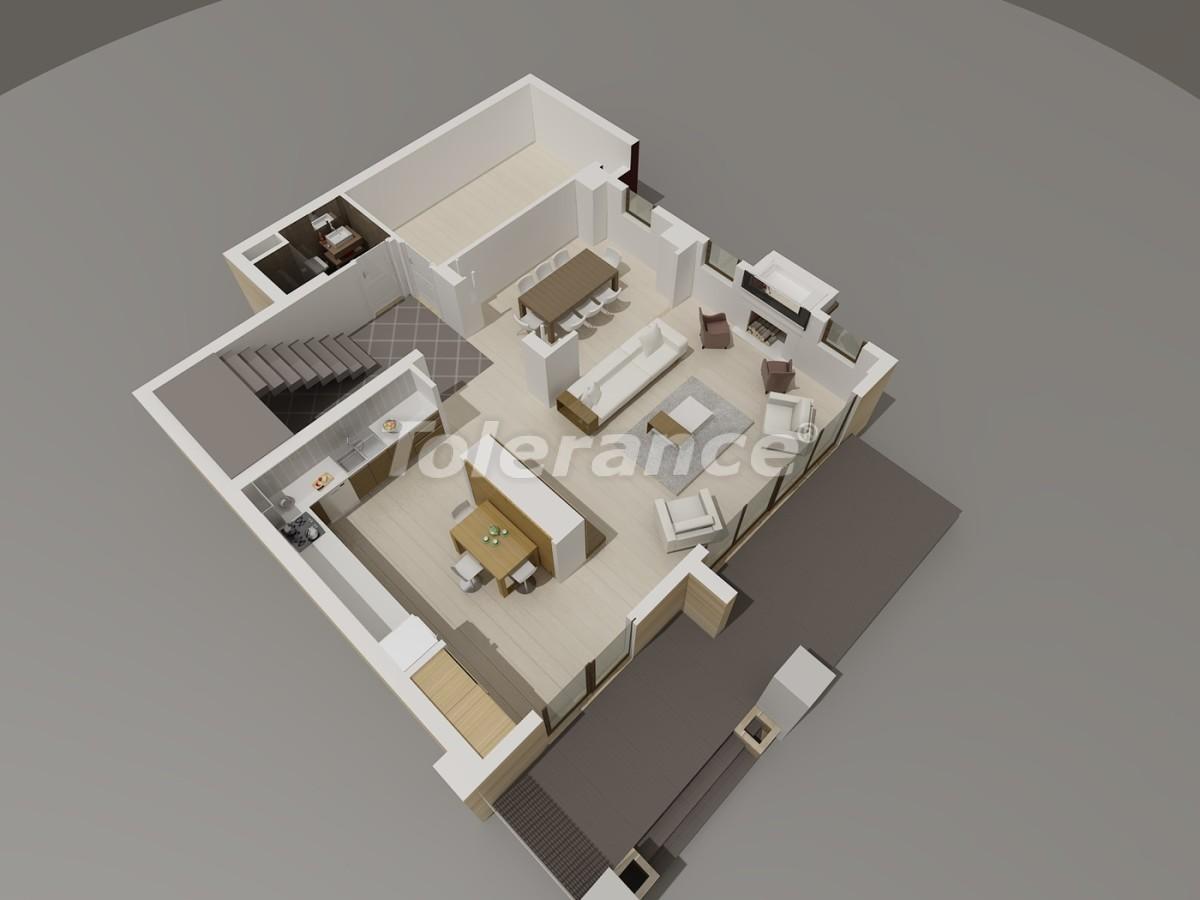 Виллы в Коньяалты, Анталия  класса люкс с видом на горы Торос - 3958 | Tolerance Homes