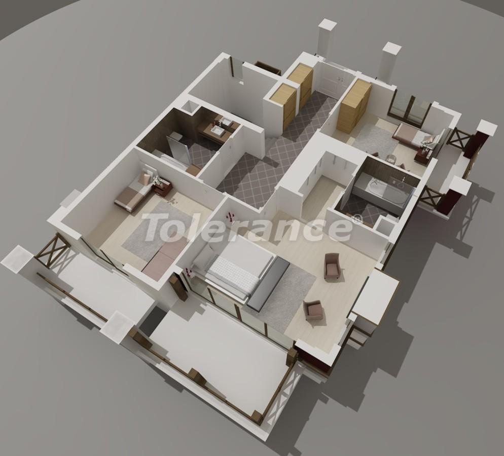 Виллы в Коньяалты, Анталия  класса люкс с видом на горы Торос - 3963 | Tolerance Homes
