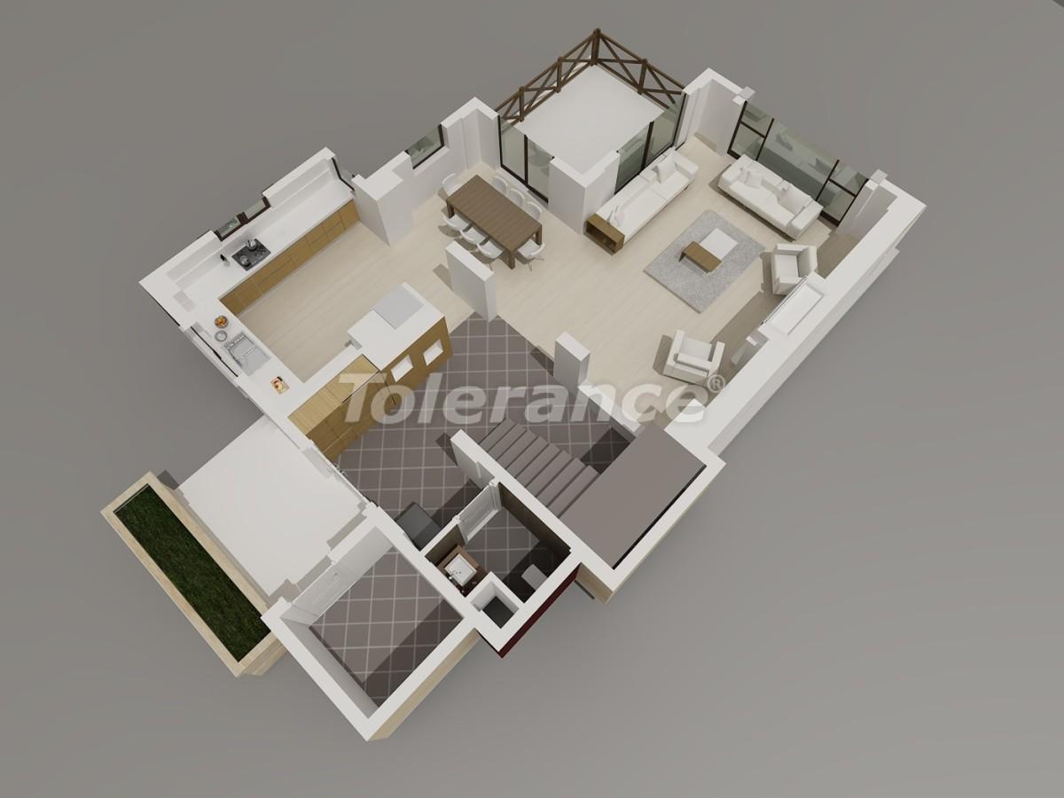 Виллы в Коньяалты, Анталия  класса люкс с видом на горы Торос - 3945 | Tolerance Homes