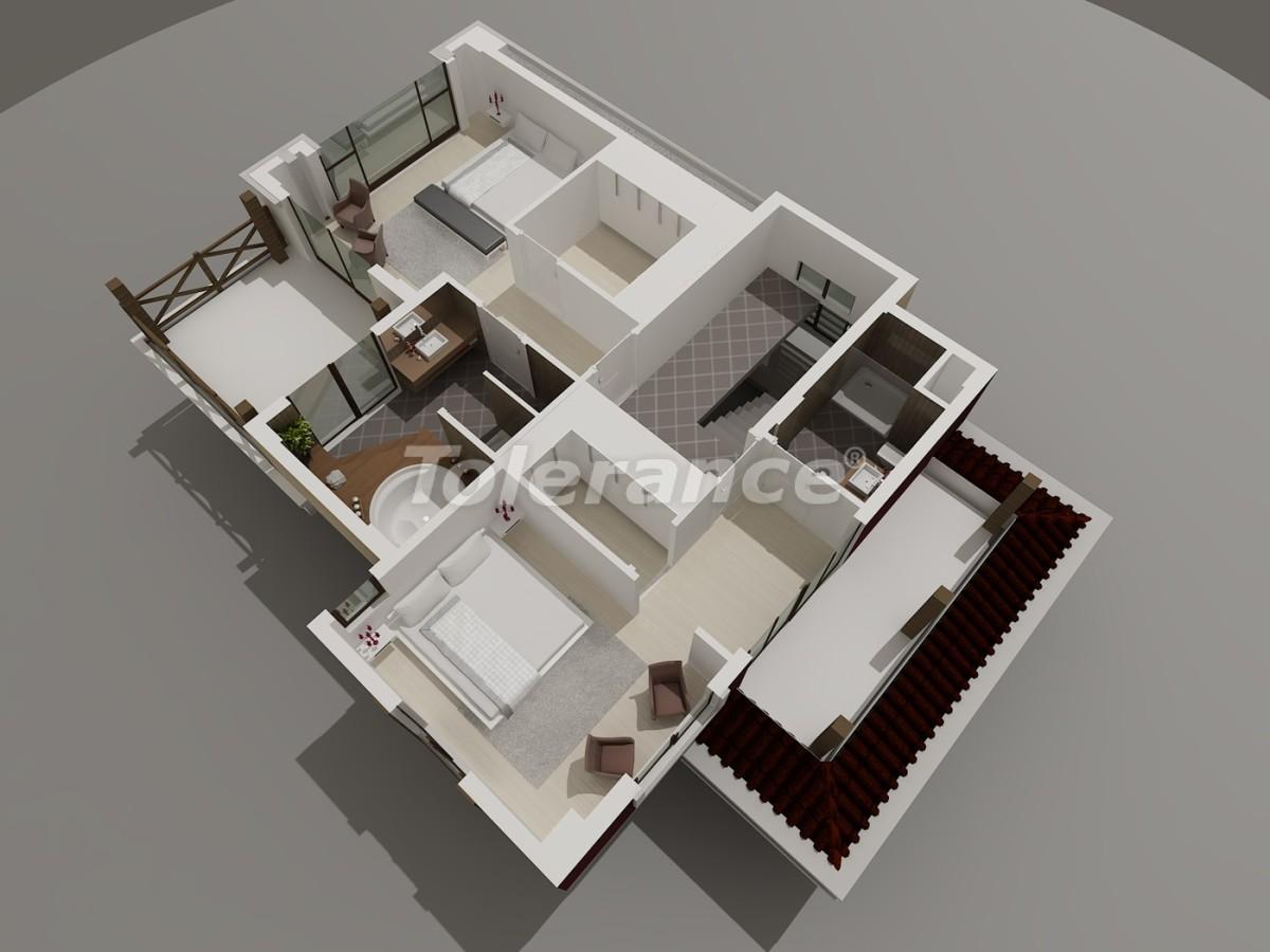 Виллы в Коньяалты, Анталия  класса люкс с видом на горы Торос - 3952 | Tolerance Homes