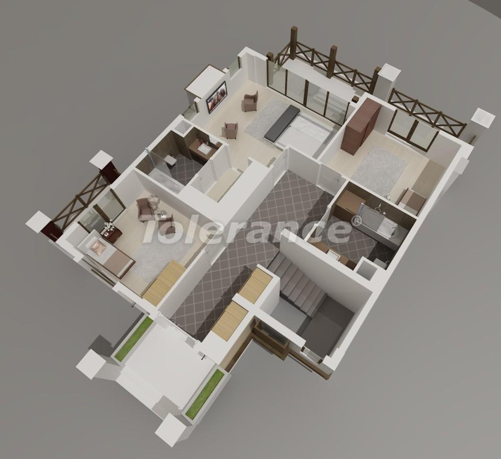 Виллы в Коньяалты, Анталия  класса люкс с видом на горы Торос - 3965 | Tolerance Homes