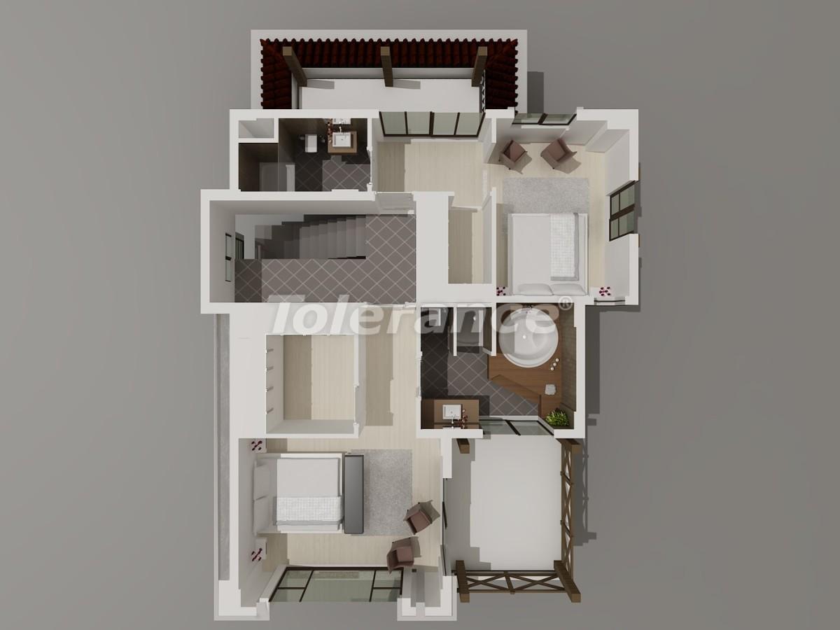 Виллы в Коньяалты, Анталия  класса люкс с видом на горы Торос - 3949 | Tolerance Homes