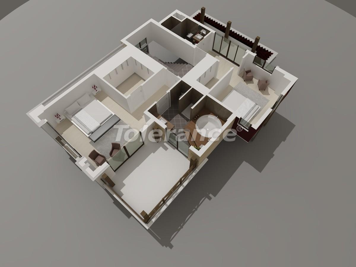 Виллы в Коньяалты, Анталия  класса люкс с видом на горы Торос - 3951 | Tolerance Homes