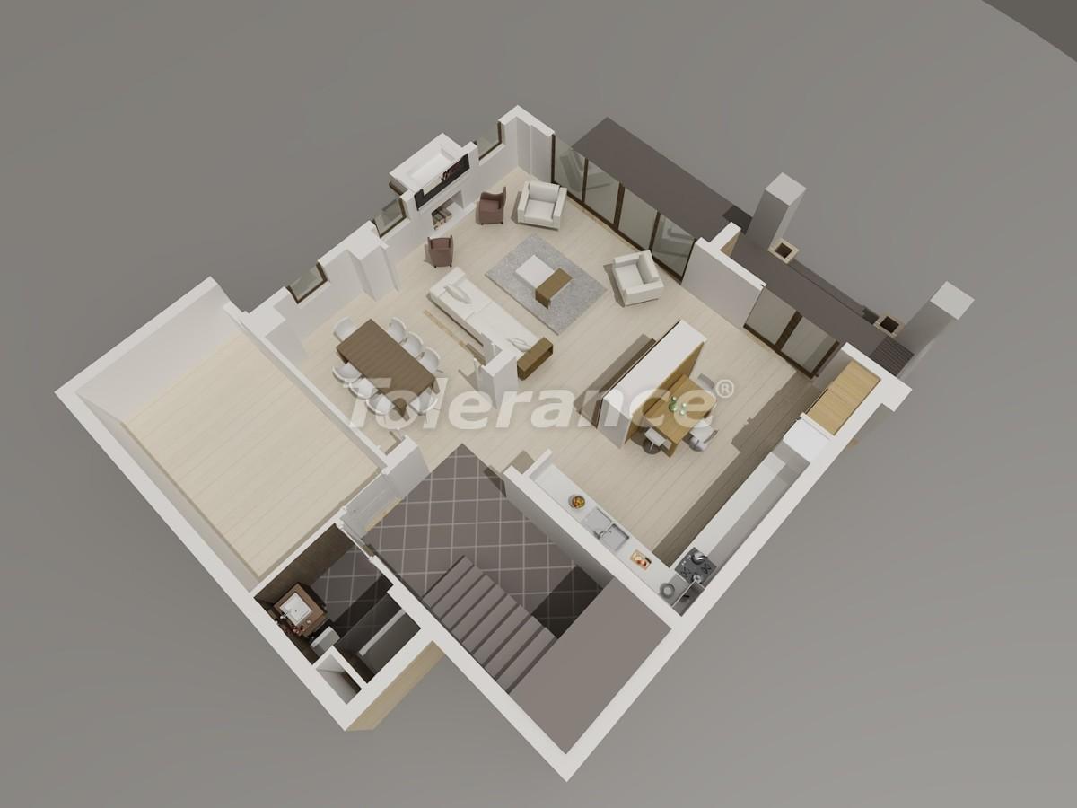Виллы в Коньяалты, Анталия  класса люкс с видом на горы Торос - 3961 | Tolerance Homes