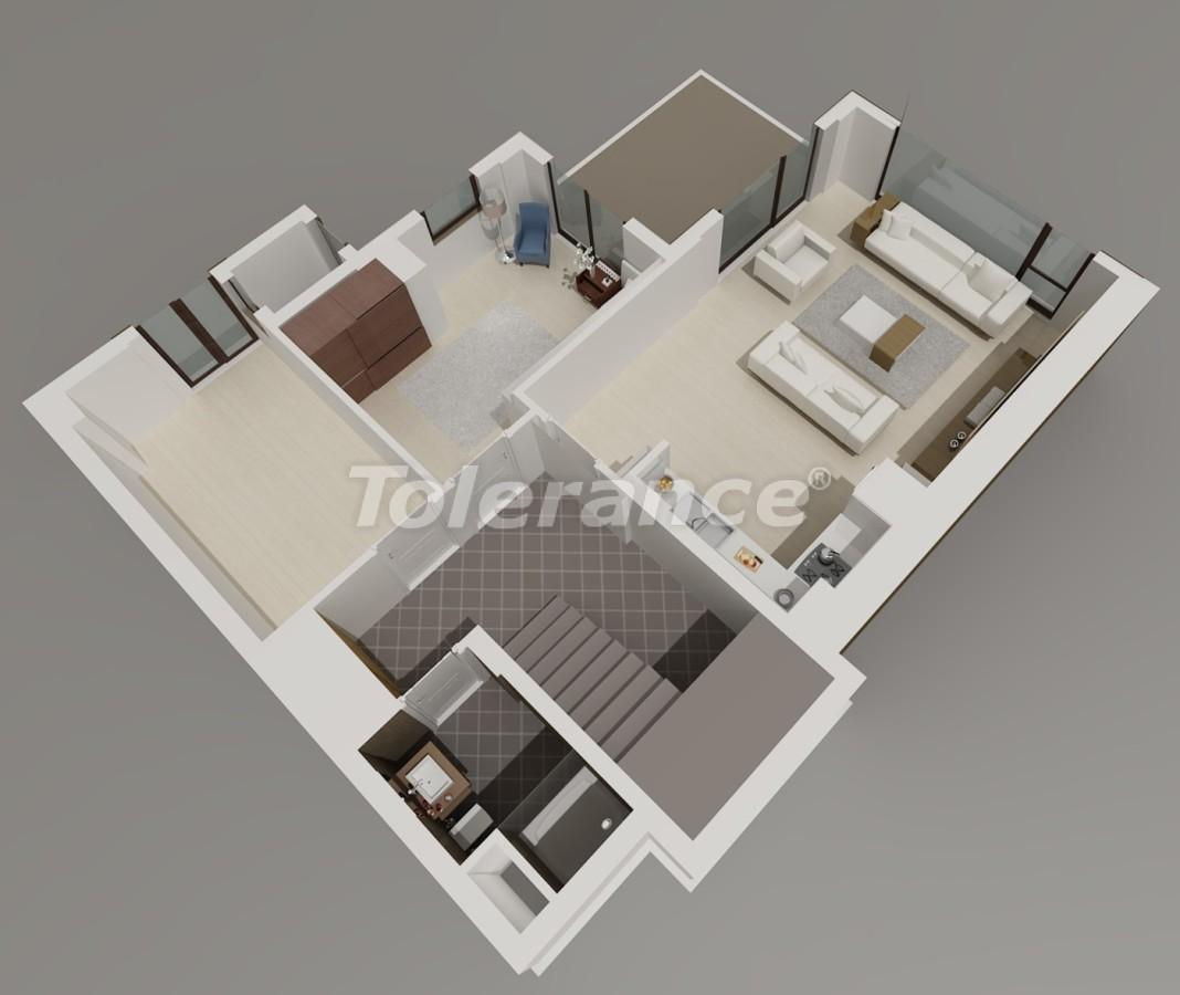 Виллы в Коньяалты, Анталия  класса люкс с видом на горы Торос - 3957 | Tolerance Homes