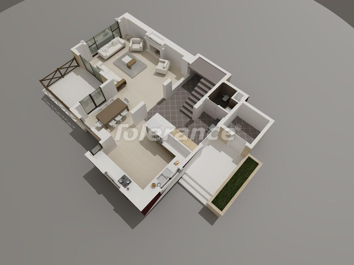 Виллы в Коньяалты, Анталия  класса люкс с видом на горы Торос - 3946 | Tolerance Homes