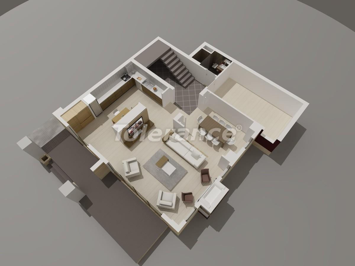 Виллы в Коньяалты, Анталия  класса люкс с видом на горы Торос - 3959 | Tolerance Homes