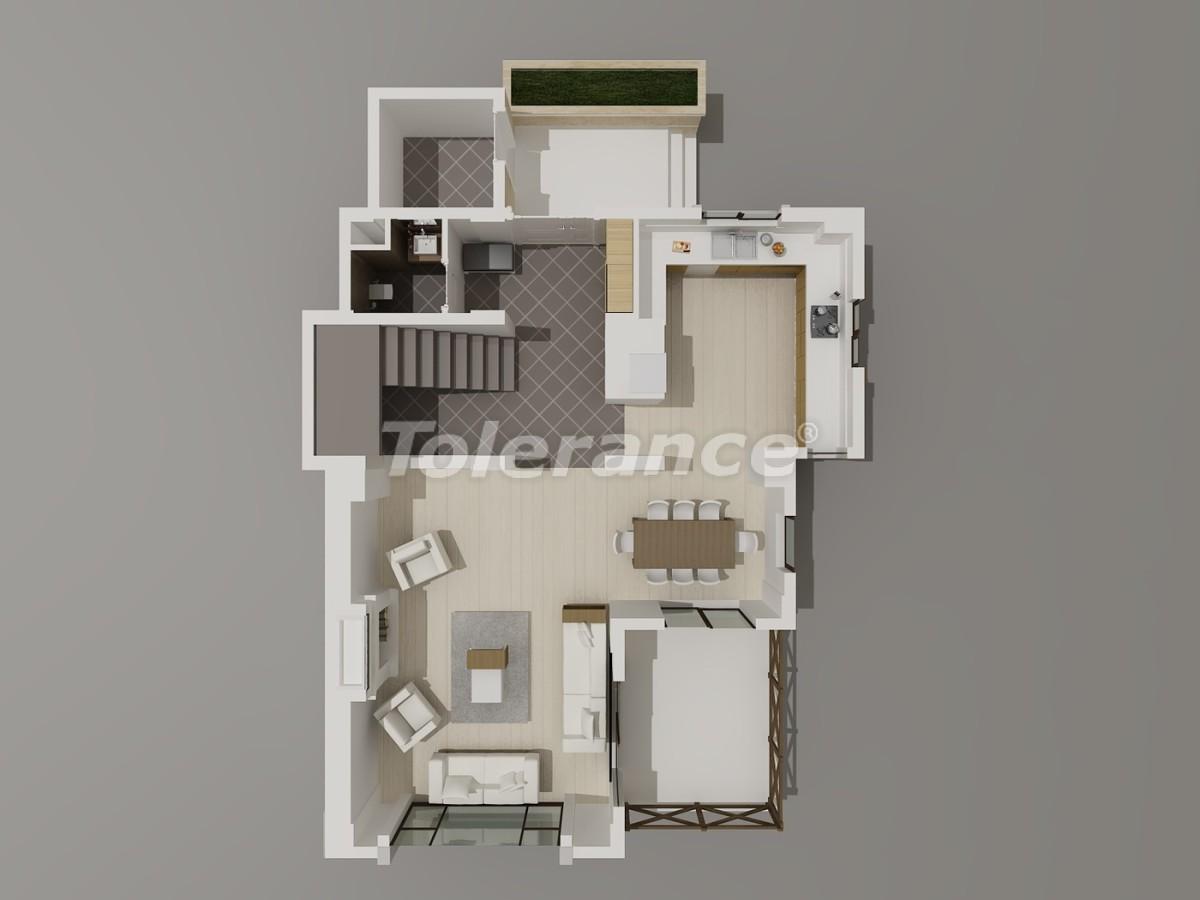 Виллы в Коньяалты, Анталия  класса люкс с видом на горы Торос - 3944 | Tolerance Homes