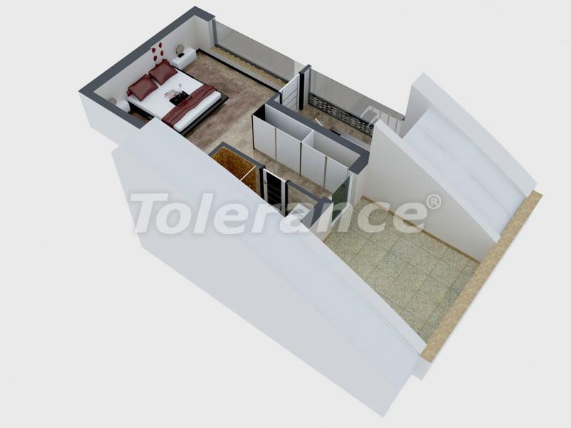 Квартиры в Коньяалты, Анталия с полным комплектом мебели и техники в 100 метрах от моря - 4094   Tolerance Homes