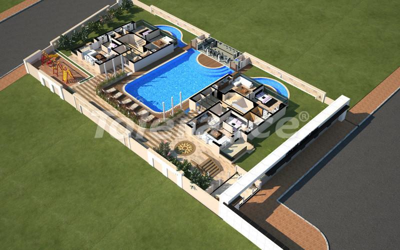 Квартиры в Коньяалты, Анталия с полным комплектом мебели и техники в 100 метрах от моря - 4096   Tolerance Homes