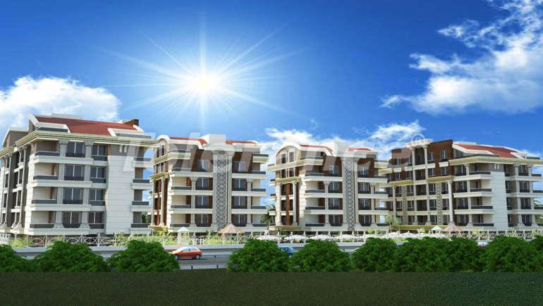 Комплекс апартаментов в Хурме, Коньяалты с бассейном с комфортабельностью отеля - 4358 | Tolerance Homes