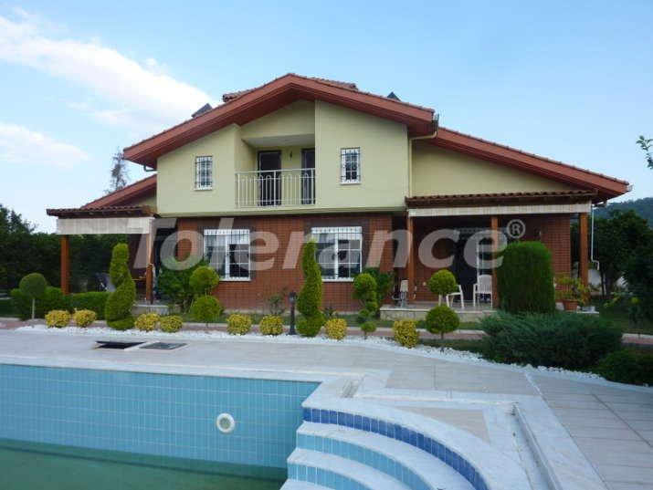 Вилла  в Асланбуджаке, Кемер в комплексе  с бассейном - 4442 | Tolerance Homes