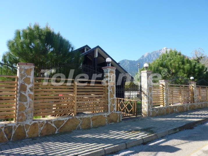 Отдельно стоящая вилла в Текирова, Кемер  в славянском стиле в 100 метрах от моря - 5049 | Tolerance Homes
