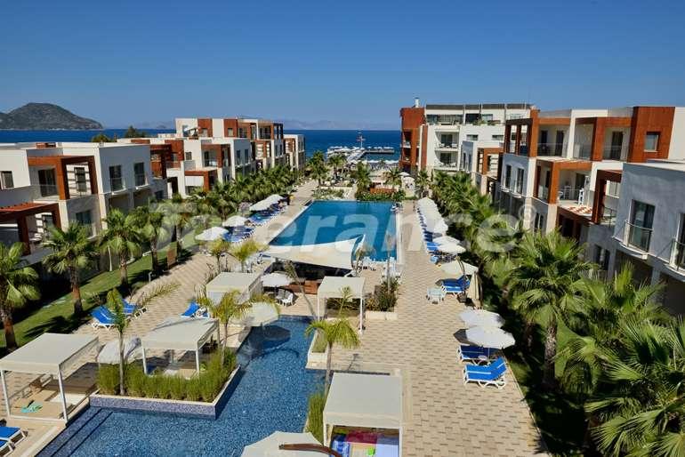 Элитный комплекс апартаментов  в Бодруме отельного типа на первой береговой линии - 6058 | Tolerance Homes