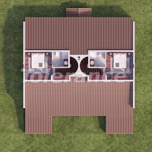 Квартиры в Каше в комплексе с бассейном в 500 метрах от моря - 6107 | Tolerance Homes
