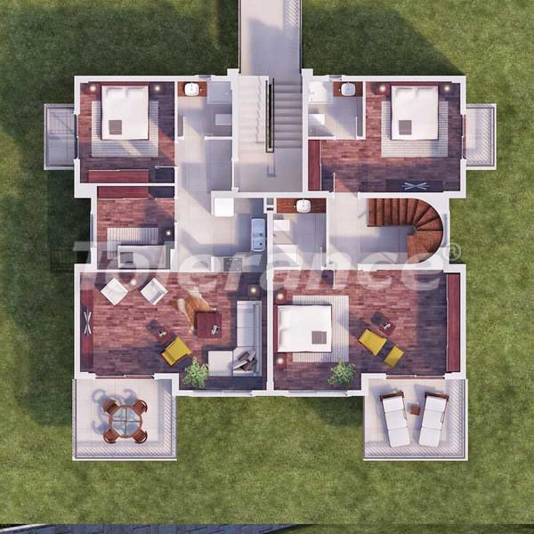 Квартиры в Каше в комплексе с бассейном в 500 метрах от моря - 6104 | Tolerance Homes