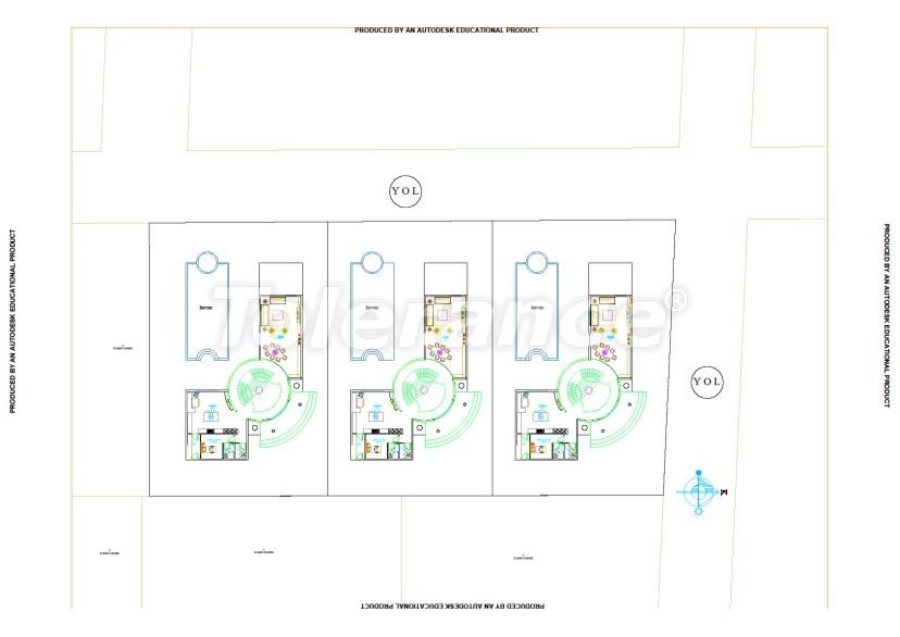 Элитные виллы в Белеке, Анталия с частным бассейном - 536 | Tolerance Homes