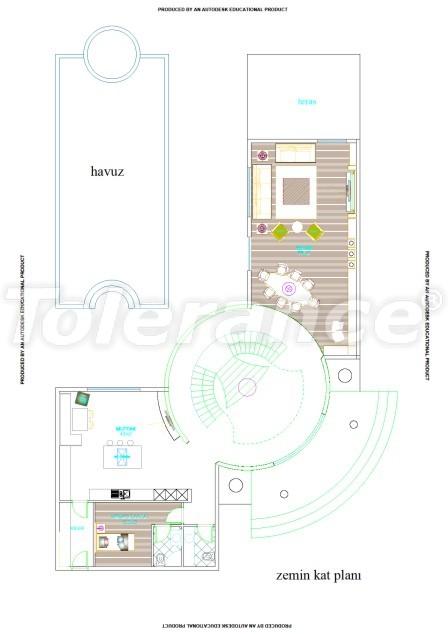 Элитные виллы в Белеке, Анталия с частным бассейном - 537 | Tolerance Homes
