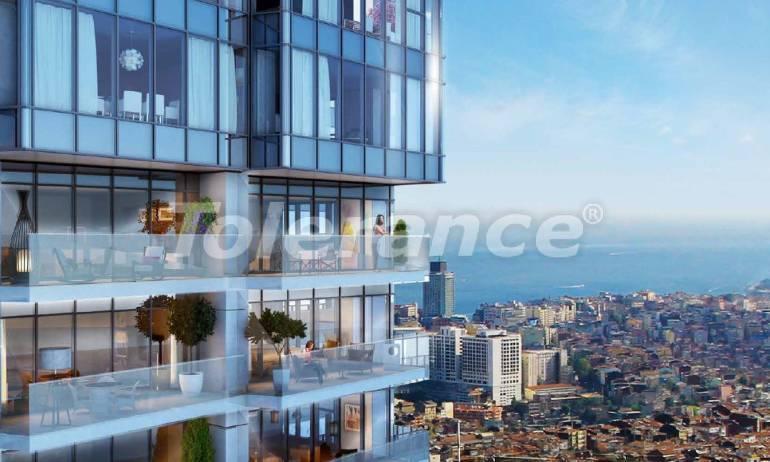 Роскошные квартиры в современном комплексе в Шишли, Стамбул с рассрочкой до 4-х лет с видом на Босфор - 18480 | Tolerance Homes