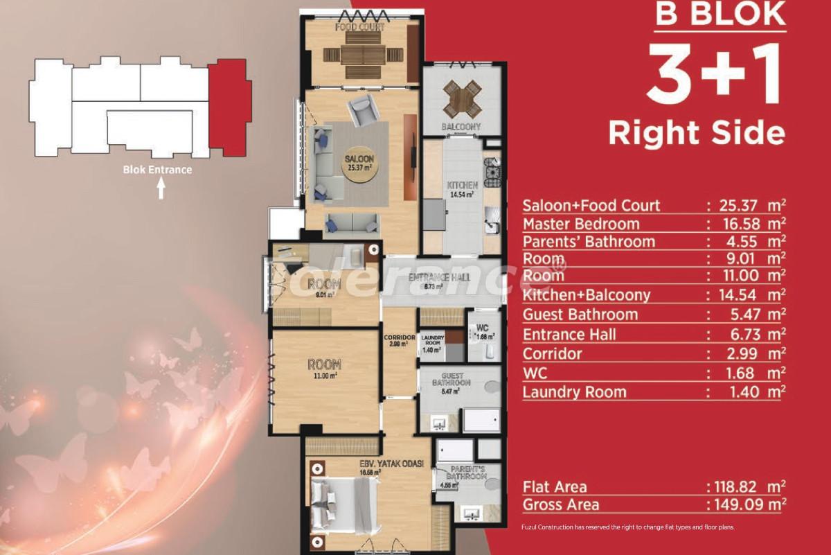 Просторные квартиры в Башакшехир, Стамбул в современном комплексе с развитой инфраструктурой - 21501 | Tolerance Homes